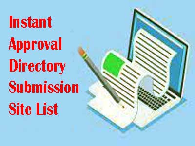 Instant Approval Directory Submission Site List