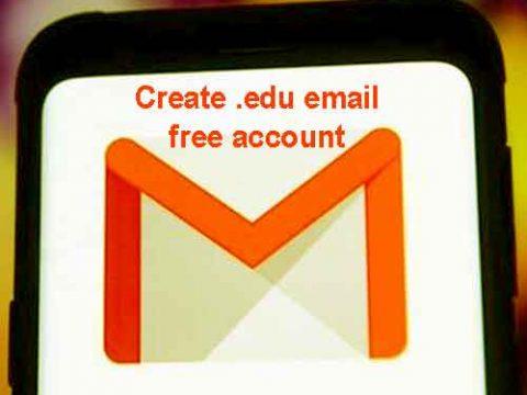Create .edu email free account